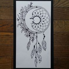 Check out my new moon dream catcher decal :)