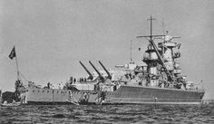 """Admiral Graf Spee"" German Heavy Cruiser WW II"