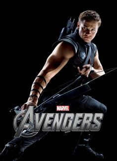 Hawk-Eye, The Avengers :) I loved the movie and he was by far my favorite character... :)