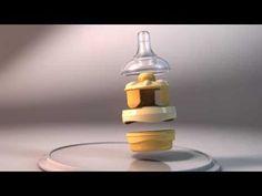 Calma ist ein brustähnlicher Flaschensauger von Medela. Das natürliche Saugverhalten des Babys an der Brust bleibt beibehalten. Hier Calma Sauger bestellen!