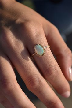 new! parson opal ring // LILI CLASPE