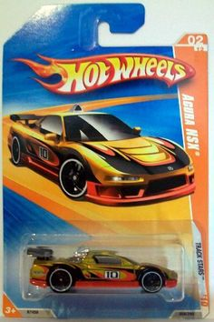 2010 Hot Wheels 058/240 Acura NSX Gold/Red 1:64 by Mattel. $6.99. die cast body and chasis. exclusive designs. 1/64 scale. officially licensed. designed for an adult. -  2010 Hot Wheels 058/240 Acura NSX Gold/Red 1:64