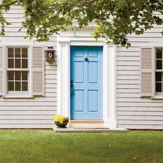 Personalize Your Front Door with Paint Colors- 17 new paint picks from color experts