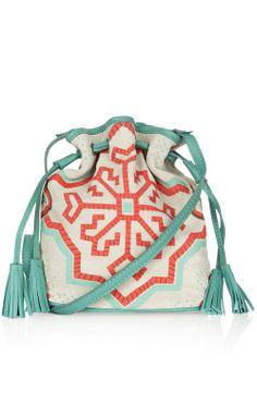 Coral & Mint Boho Bag ♥