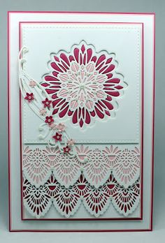 Happy Tuesday,   Today's card showcases another 2 of the current range of dies designed by Sue Wilson for Creative Expressions that will b...