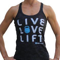 Live Love Life Tank - Fashletics