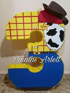 4 piñata decorated like this
