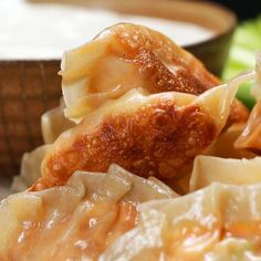 These Buffalo Chicken Potstickers Are Dope AF And So Easy To Make