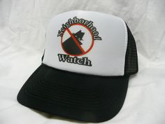 Neighborhood Watch Trucker Hat - Pop Culture, Video Gaming & More