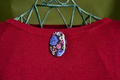 brooch, handmade