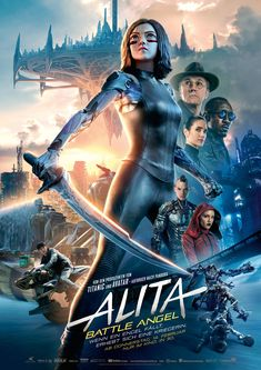 Jennifer Connelly, Christoph Waltz, and Mahershala Ali in Alita: Battle Angel Christoph Waltz, Movies 2019, New Movies, Movies To Watch, Movies Online, Movies Free, Latest Movies, Mahershala Ali, Edward Norton