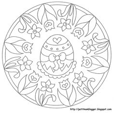 Foto: Easter Coloring Pages, Free Coloring Pages, Coloring Sheets, Coloring Books, Easter Templates, Easter Printables, Easter Art, Easter Crafts, Zentangle Patterns