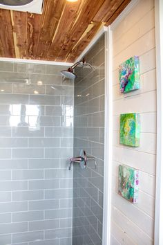 The Aurora comes with a full size shower!