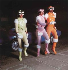 The Joy of Space Age Fashion  Look at these gals