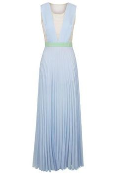 **Neon Town Pleated Maxi Dress by Jovonna
