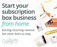 How one woman used CrateJoy to start her own subscription box service that is now generating a full-time income from home for her family!