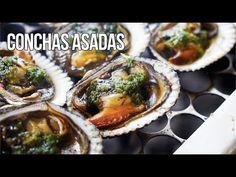 CONCHAS ASADAS Cilantro, The Creator, Make It Yourself, Youtube, Food, Wings, Gastronomia, Seafood, Easy Food Recipes