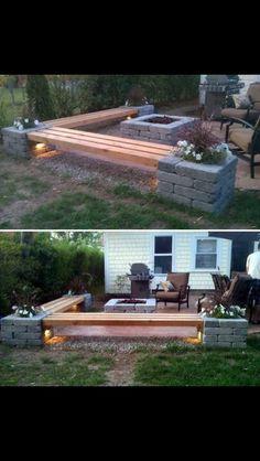 Um Den Sommer Willkommen Zu Heißen Gestalten Sie Ihre Terrasse, Hier Eine  Tolle Idee Dazu, Pflanzen Sie Bäume Und Blumen, Stellen Sie Tisch Und Bänke  Nach ...