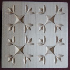 Chip Carving Class - Quilt Squares #16: Post pics of your square(s) HERE! - by MyChipCarving @ LumberJocks.com ~ woodworking community