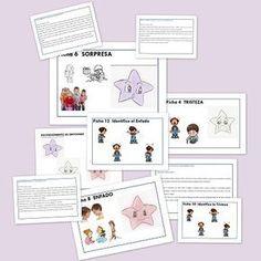 Autismo Fichas Didácticas para trabajar el autismo. Expresión y Comprensión de las Emociones