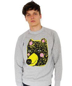 Rosy Bear Mens Sweatshirt ($50-100) - Svpply