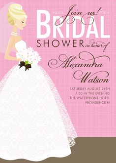 49 best bridal shower invitations images on pinterest bachelorette cute bridal shower invitations filmwisefo