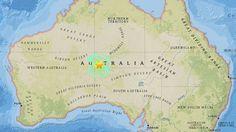 A magnitude 5.9 earthquake has hit Australia 20 May, 2016