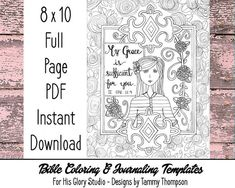 Coloring Page Printable Bible Verse Proverbs 35 Trust In