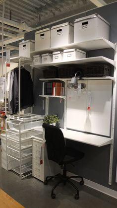 家じゅうの空きスペース有効利用!イケアのALGOTシステム収納