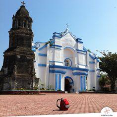 Pilgrimage at the hometown church, Badoc, Ilocos Norte Ilocos Norte Philippines, Old Churches, Pilgrimage, Spanish, Island, Mansions, House Styles, Building, Manor Houses