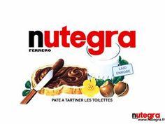 Nutegra, pate à tartiner les toilettes