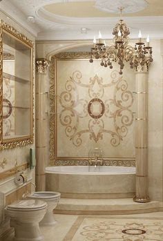 awesome 25 Luxurious Marble Bathroom Design Ideas Tap the link now to see where the world's leading interior designers purchase their beautifully crafted, hand picked kitchen, bath and bar and prep faucets to outfit their unique designs. Apartment Bathroom Design, Bathroom Interior Design, Decor Interior Design, Bathroom Designs, Bathroom Ideas, Simple Bathroom, Bathroom Wall, Loft Bathroom, Concrete Bathroom