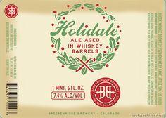 mybeerbuzz.com - Bringing Good Beers & Good People Together...: Breckenridge - Holidale 22oz Bottles