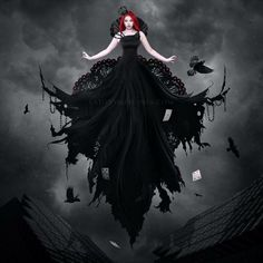"""Morrigan, The Raven Queen.... She is a goddess of war, death, prophecy and passionate love. Together with Badb and Macha she build a triad of three warlike goddesses.Other Names and Titles Mor Righ Anu  Morrigan or Morrigu  Morgan - (MOHR-gahn) from Welsh mor """"sea"""" or mawr """"great, big"""" + can """"bright"""" or cant """"circle"""" or geni """"born.""""   Together with Nemain/Babd and Macha she formed as the Morrigna (Great Queens) a triade.  Modron the Badhbh Chatha: """"Raven of the Battle"""" """"Washer at the…"""