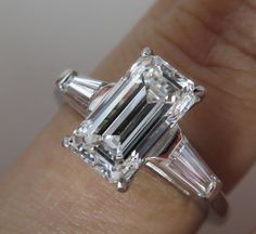 GIA Certified 3.79ct Estate Vintage Solitaire by DiamondViolet, $22000.00