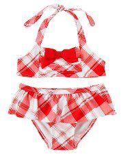This would be so cute with a chubby little baby belly along with the matching hat and sunglasses!