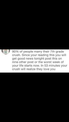 *grasping this astonishing fact*. How the hell does their crush like them back.