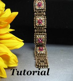 Tutorial for Layer Cake Cuff Bracelet