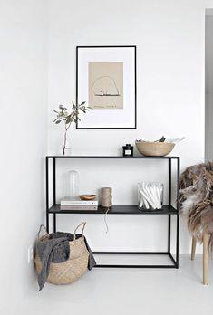Naturmaterialien sind sehr beliebt im skandinavischen Stil