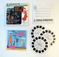 Mary Poppins View-master Disney 1964 Movie GAF Set Reel Lot of 3 Vintage Booklet | eBay