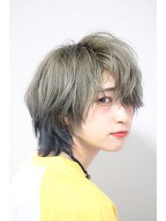 ハイトーンカラー×ショートウルフ/Devellope.(デヴェロペ)をご紹介。2017年夏の最新ヘアスタイルを100万点以上掲載!ミディアム、ショート、ボブなど豊富な条件でヘアスタイル・髪型・アレンジをチェック。