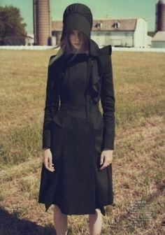 Amish Chic, kinda like the dress.....wtf?