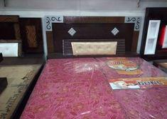 Bedroom is the place of home. Wood Bed Design, Bedroom Bed Design, Wood Bedroom, Living Room Wall Units, Wardrobe Door Designs, Carpenter Work, Pooja Room Design, Main Door Design, Pooja Rooms