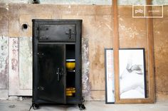 The Mox cabinet is a real industrial furniture piece that will not leave you cold