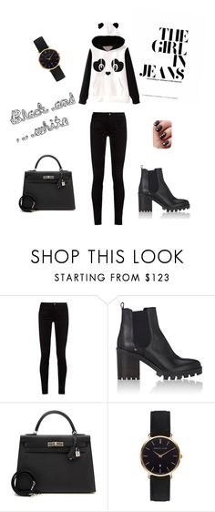 """Bez naslova #2"" by adelies ❤ liked on Polyvore featuring Gucci, Barneys New York, Hermès and Abbott Lyon"