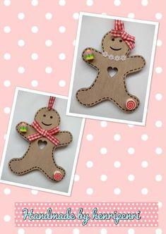 Gingerbread man wooden  £3.95
