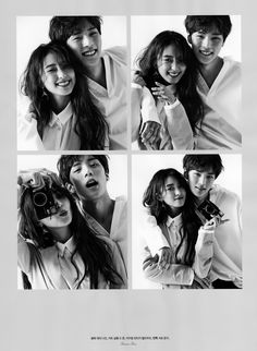 Sistar Bora and Monsta X Minhyuk for Singles Magazine (May issue)  Credit: summersnow