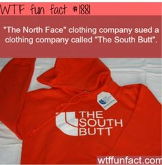 north face sues south butt
