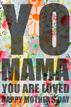 diy printable mother's day card
