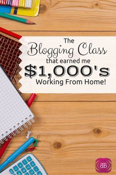 As I've evolved as a blogger, mother, and freelancer extraordinaire, I've learned that some things are totally worth spending money on! Case in point: the awesome blogging class that has single-handedly helped me to earn $1,000's of dollars while working at home with my twins! http://www.budgetblonde.com/2015/04/24/how-one-blogging-class-helped-me-make-thousands-of-dollars-working-from-home/
